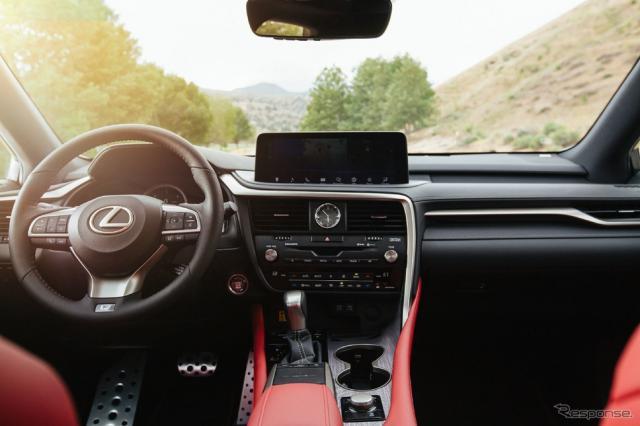 レクサス RX の2021年モデル(北米仕様)《photo by Lexus》