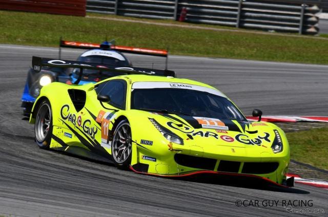 ル・マン24時間レース、LM-GTE Amクラスに2年連続で参戦するカーガイレーシング《写真提供 J SPORTS》