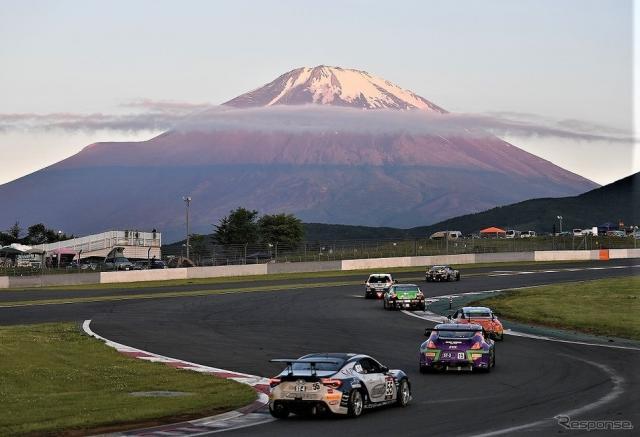開催3年目を迎える富士SUPER TEC 24時間レース《写真提供 J SPORTS》