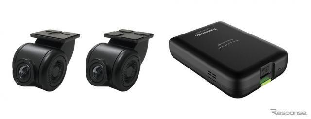 【パナソニック ドライブレコーダー 新型】10型大画面にHD表示できる2カメラ型ドラレコ登場