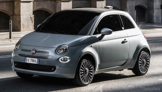 フィアット 500 ハイブリッド《photo by Fiat》