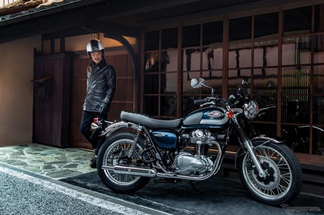 カワサキ W800《写真提供 カワサキモータースジャパン》
