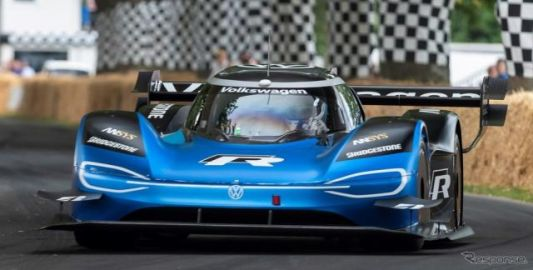 VWのEVレーサー、F1マシンの最速記録に挑む…10月開催のグッドウッドスピードウィークで