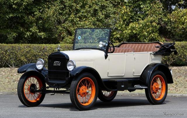 フォード・モデルT ツーリング《写真提供 アムラックストヨタ》