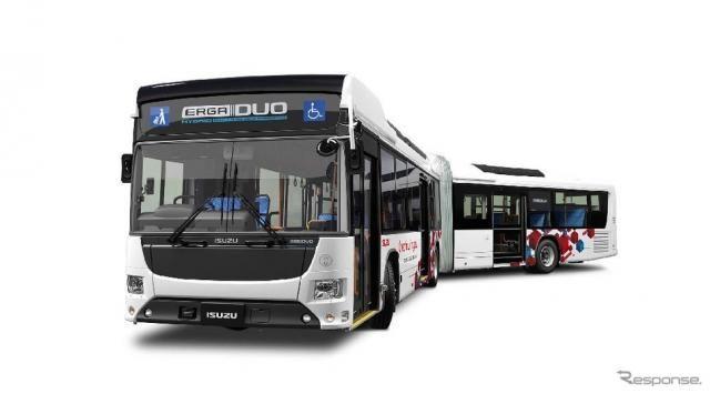 東京BRT、プレ運行を10月1日から開始…定員119名の連節バス『エルガデュオ』など導入
