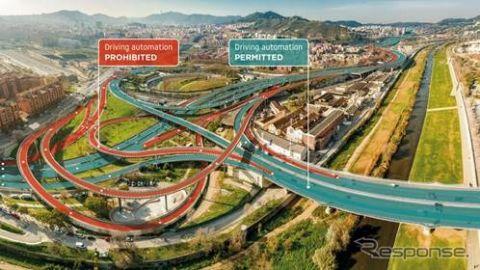 自動運転に適した道路を定義、TomTomが「ロードチェック」を開発