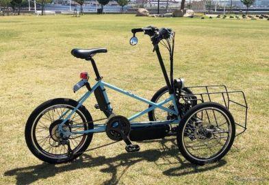カワサキ、電動三輪ビークルを2022年度市販へ 社内公募第1号案件