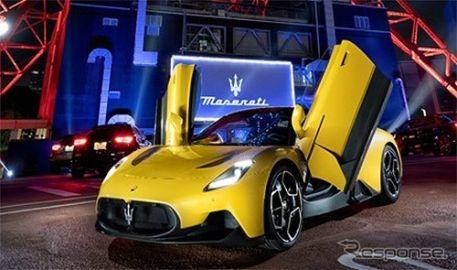 【マセラティ MC20】新型スーパースポーツカーを初公開…バタフライドア初採用、価格は2650万円