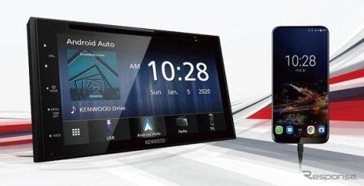 ケンウッド、Apple CarPlay/Android Auto対応のディスプレイオーディオ発売へ