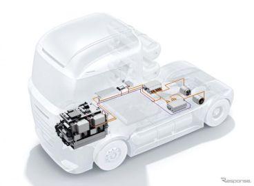 ボッシュ、燃料電池パワートレイン生産へ…2022年からトラック向けに
