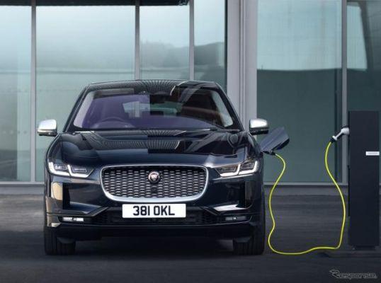 ジャガーのEV『I-PACE』に改良新型、内外装をアップデート…受注を欧州で開始