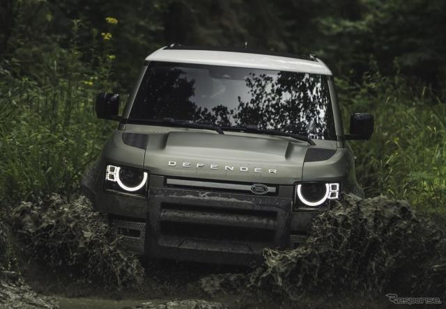 ランドローバー・ディフェンダー 新型のショートボディ「ディフェンダー 90」《photo by Land Rover》