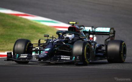 【F1 トスカーナGP】フリー走行2回目はメルセデスのワンツー…レッドブル・ホンダが3-4位