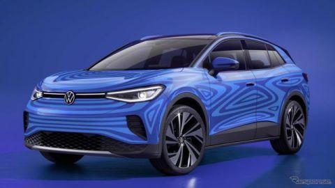 VWの新型EV『ID.4』、プロトタイプが公道走行テスト