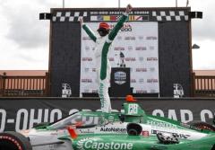 【INDYCAR 第11戦】新進気鋭のコルトン・ハータが今季初勝利…琢磨は連日の苦戦、シリーズランキング7位に後退