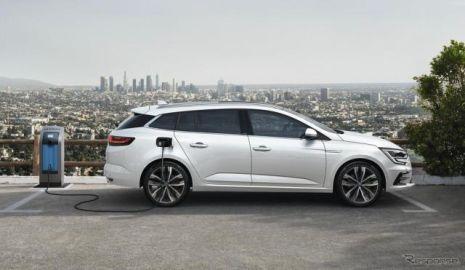 ルノー メガーヌ 改良新型にPHV、EVモードは最大65km…欧州発売