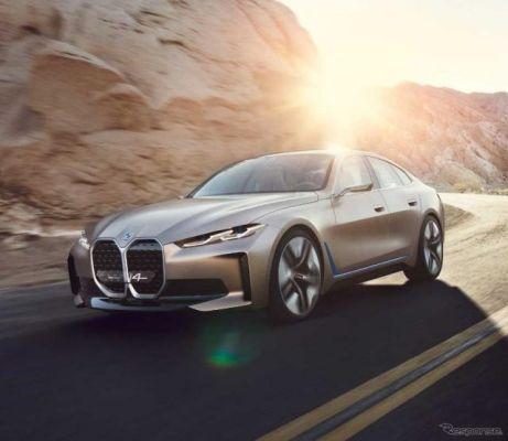 BMWの新型EVクーペ『i4』、生産準備が完了…2021年発売へ