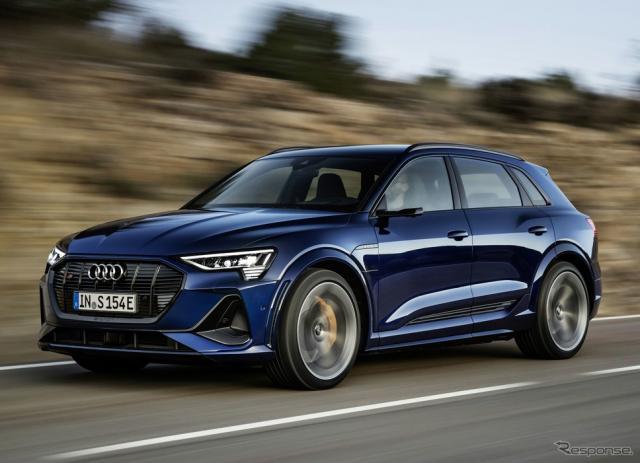 アウディ e-tron S《photo by Audi》