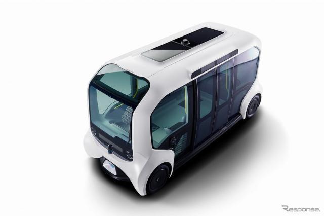 トヨタ e-パレット《写真提供 トヨタ自動車》