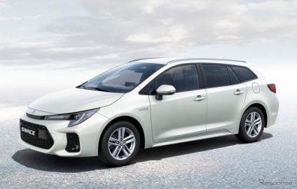 スズキの新型ワゴン『スウェイス』、トヨタ カローラ ベースのOEM…欧州発表