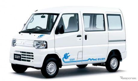 三菱自動車、軽商用EV『ミニキャブ・ミーブ』を一部改良…グレードは16.0kWh仕様に集約