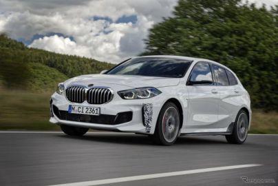 BMW の「ti」が 1シリーズ で復活へ 、ゴルフGTI 新型に対抗のFFスポーツに…プロトタイプの写真