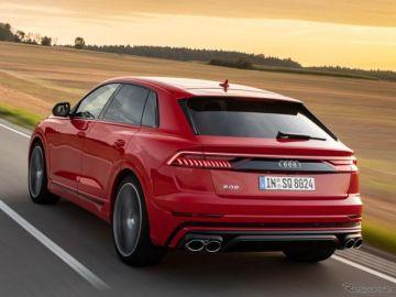 アウディ Q8 に第2の「S」、ガソリンツインターボは507馬力…今秋欧州発売