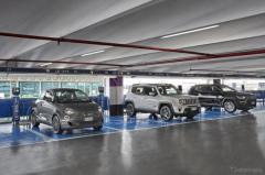 ローマ国際空港に急速充電ステーション…フィアットやジープの電動車向けに開設
