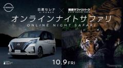 オンライン・ナイトサファリ…小島よしおがガイド、日産と那須サファリパークがコラボ 10月9日