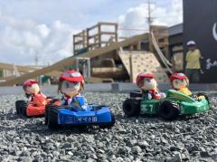 「バギーカート」常設コースが静岡にオープン、子どもたちも楽しめる世界一遅いラジコン