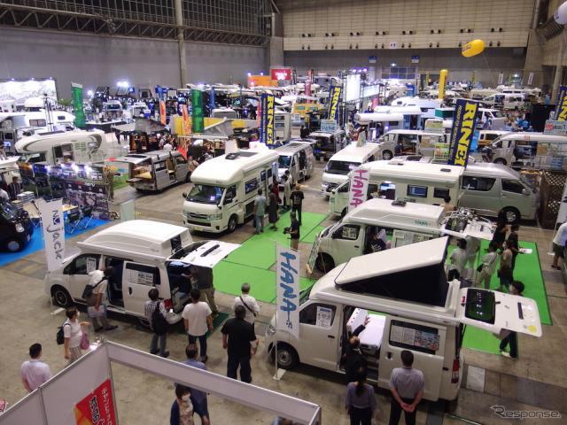 東京キャンピングカーショー2020《写真撮影 高木啓》