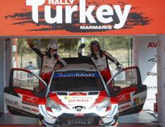 【WRC 第5戦】波乱のトルコ戦、トヨタのエルフィン・エバンスが制す