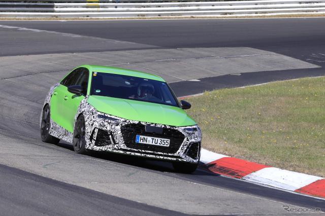 アウディ RS3セダン 次期型プロトタイプ(スクープ写真)《APOLLO NEWS SERVICE》