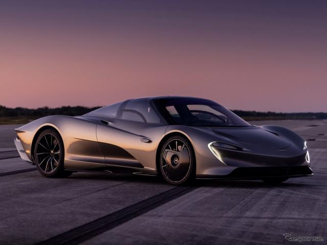 マクラーレン・スピードテール《photo by McLaren》