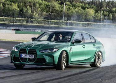 BMW M3セダン 新型、縦長グリル採用… 3シリーズ と決別したデザイン
