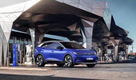 VW ID.4 発表---コンパクトSUV市場にフルEV投入[速報]