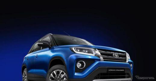 トヨタの小型SUV、スズキからOEM供給…『アーバンクルーザー』をインド発売