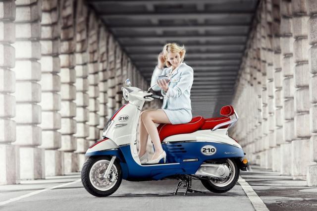 プジョー ジャンゴ125 ABS 210周年リミテッドエディション《写真提供 aidea》