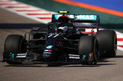 【F1 ロシアGP】初日はボッタス、ハミルトンの順でメルセデスがワンツー