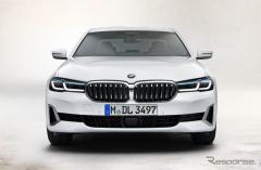 【BMW 5シリーズ 改良新型】デザイン責任者「より力強く、モダンなクルマに」