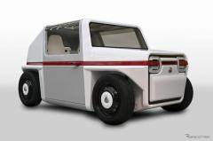 AZAPAが2人乗り超小型FCV初公開、2021年度中の市販化計画…北京モーターショー2020