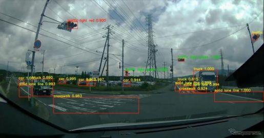 事故相手車両の速度をAIが推定 あいおいニッセイ同和損保