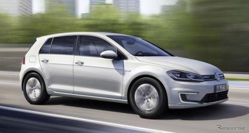 VWとウーバーと提携… ゴルフEV をライドシェアサービスに運用開始