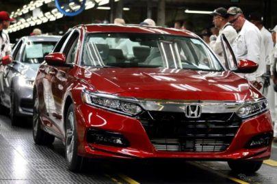 ホンダの世界生産台数、6.4%減まで回復---38万9481台 8月実績