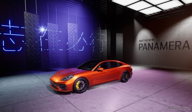 ポルシェ・パナメーラ 改良新型のターボS(北京モーターショー2020のバーチャルツアー)《photo by Porsche》