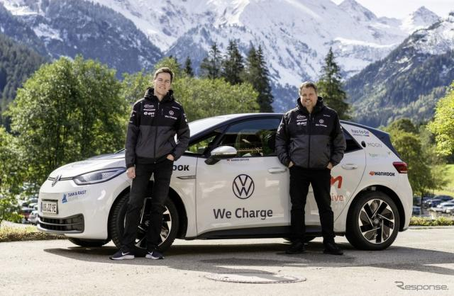 フォルクスワーゲン ID.3の2万kmに及ぶ長距離テスト車両《photo by VW》
