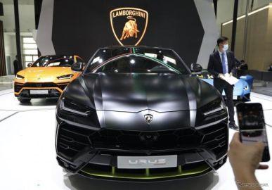 ランボルギーニ ウルス に「グラファイトカプセル」、2021年型に設定…北京モーターショー2020で発表