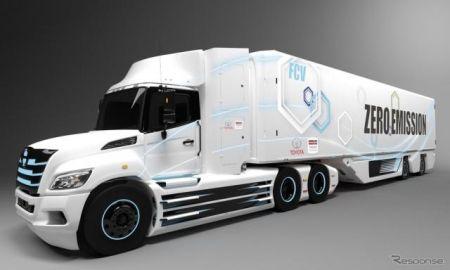 トヨタと日野、燃料電池トラックを共同開発へ---北米市場向け