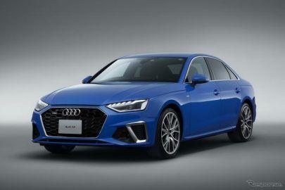 【アウディ A4 改良新型】日本発売---エクステリア刷新、マイルドハイブリッドを搭載
