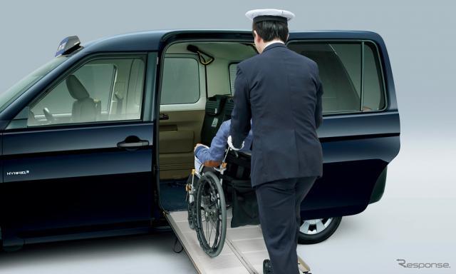 トヨタJPN TAXI(参考画像)《写真 トヨタ自動車》